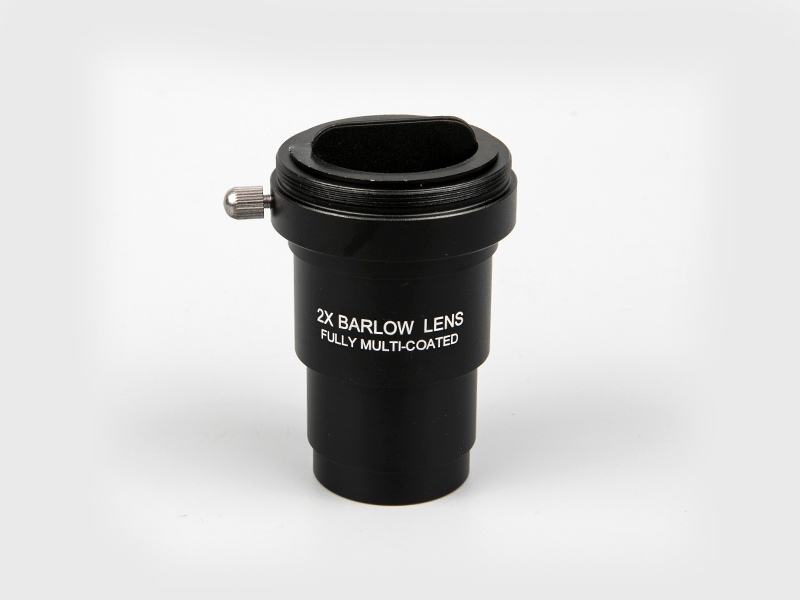 "1.25"" 2X Barlow Single Lens with T adapter"